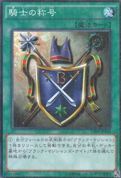 画像4: 騎士の称号